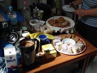 Delicious Morning Tea Spread ---Loading---